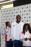Teddy Riner and teammates