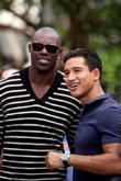 Terrell Owens and Mario Lopez