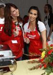 Jennifer Love Hewitt and Kim Kardashian
