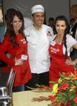 Jennifer Love Hewitt, Antonio Villaraigosa and Kim Kardashian