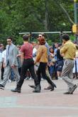 Scarlett Johansson, Chris Evans, Jeremy Renner, Mark Ruffalo and Robert Downey Jr