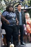 Gabourey Sidibe and Mario Lopez