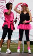 Denise Lewis and Penny Lancaster