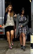 Una Healy and Vanessa White of The Saturdays...