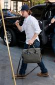 Tom Cruise  arrives at his Manhattan apartment...