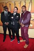Sean Combs, Brett Ratner, Nas and Ziegfeld Theatre