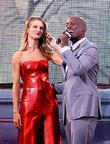 Rosie Huntington-Whiteley and Tyrese Gibson  attends the...