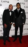 Kevin Liles and Trey Songz