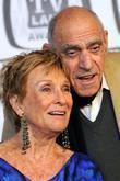 Cloris Leachman and Abe Vigoda
