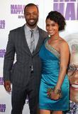 isaiah mustafa and shannon kane los angeles premier