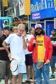 John McEnroe and Judah Friedlander