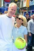 John McEnroe and Kristin Chenoweth