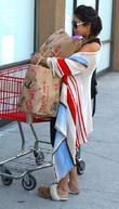 Vanessa Hudgens leaving Trader Joe's in Studio City...