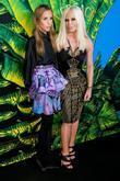 Versace and Donatella Versace