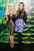 Donatella Versace and Nicki Minaj
