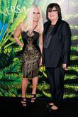 Donatella Versace and Zoe Kravitz