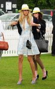 Tamsin Egerton The Veuve Clicquot Gold cup final...