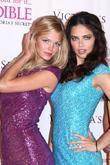 Erin Heatherton and Adriana Lima