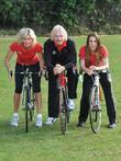 Richard Branson, Melanie C and Nell McAndrew