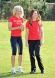 Melanie C and Nell McAndrew