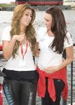 Stacey Solomon and Michelle Heaton