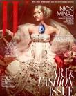 Nicki Minaj appears on the November cover of...