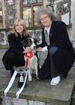 Anthea Turner and Brian May