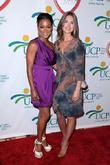 Robin Givens and Lauren Bush