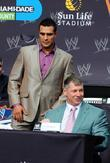 alberto del rio and chairman and ceo of wwe vince m