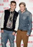 Aiden Grimshaw and Matt Cardle