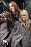 Emma Dumont, Bailey Buntain and Rockefeller Center