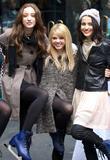 Emma Dumont, Bailey Buntain, Julia Goldani Telles and Rockefeller Center