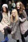 Julia Goldani Telles, Bailey Buntain, Emma Dumont and Rockefeller Center