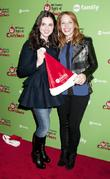 Vanesa Marano, Katie LeClerc at Rockefeller Center Ice...