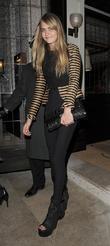 Cara Delevigne leaving 34 restaurant. London, England