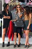 Shenae Grimes, Jessica Stroup and Brentwood