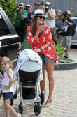Alessandra Ambrosio, her daughter Anja Louise and her...