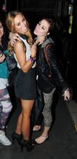 Lauren Pope and Aura Nightclub
