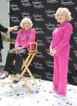 Betty White attends the unveiling of her wax...