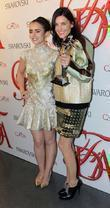 Lily Collins and Tabitha Simmons 2012 CFDA Fashion...