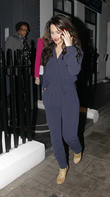 Cheryl Cole, Nicola Roberts, Girls Aloud, Central London Restaurant
