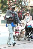 Djimon Hounsou and Kenzo Hounsou