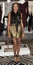 Allyson Felix Fashion's Night Out - DVF Store...