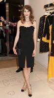 Alexa Chung Fashion's Night Out - Moschino Moschino...