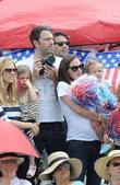 Ben Affleck and Jennifer Garner and their daughters...