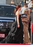 Debra Messing and Beverly Hilton Hotel