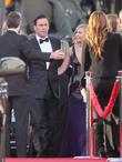 Jon Hamm, Jennifer Westfeldt and Beverly Hilton Hotel