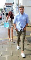Amy Childs and David Peters