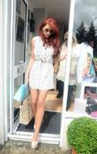 Amy Childs  at the opening of 'Harry's...