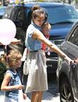 Jessica Alba, Haven Warren and Honor Marie Warren...